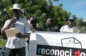 Beneco Enecia, Director de CEDESO y miembro de Dominicanos x Derecho.