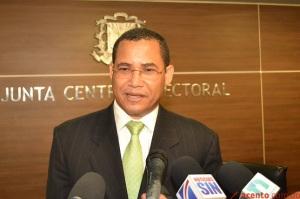 Eddy Olivares, Magistrado de la JCE.
