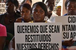 Es la primera respuesta pública por el gobierno de los Estados Unidos a la decisión de la República Dominicana