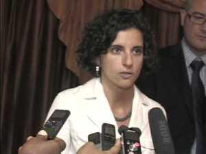 Chiara Liguori, investigadora de Amnistía Internacional