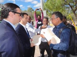 Representantes del gobierno dominicano recibieron la comunicación emitida por las organizaciones de la sociedad civil