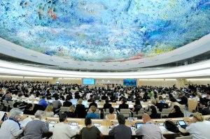 El Examen Periódico Universal se realizó en Ginebra, Suiza.