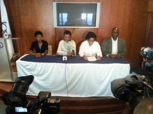 Voceros de Dominicanos por Derecho
