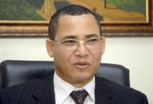 El Magistrado Eddy Olivares, juez de la JCE