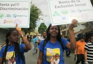 Integrantes del grupo Soy Dominicano como Tú
