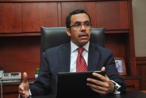 Andrés Navarro, fue designado canciller de República Dominicana en agosto pasado