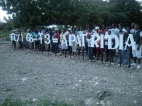 #LaJCEmiente:  Más de mil jóvenes en los bateyes del sur continúan sin documentos.  Unos 400 no aparecen en la lista de los 55mil