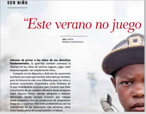 Luchar contra la apatridia y la desnacionalización es proteger a nuestros niños y niñas: Descarga informe de ACNUR sobre apatridiainfantil