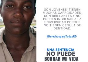 Sin sus documentos una joven dominicana es más vulnerable alabuso